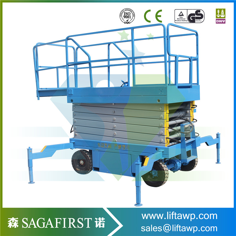 Battery Powered Lifting Table Residential Scissor Lift Lifter