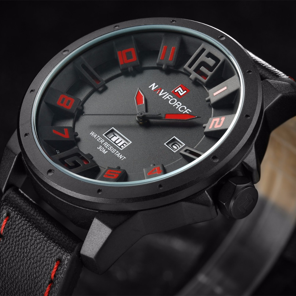 relogio masculino esportivo Naviforce luxury brand Watches Men Quartz Analog 3D Face Clock male Army military sports watch reloj