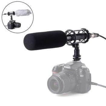 Vídeo condensador BOYA de PVM1000 BY-PVM1000/micrófono de entrevista para cámara Canon Nikon Sony DSLR con parabrisas gratis