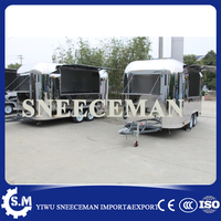 large space mobile dining car street mobile breakfast cart hot sale churros food trailer
