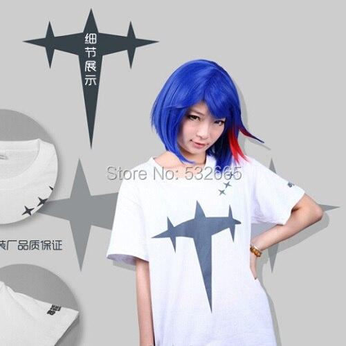 Cos Cosplay Kill La Kill Ryuko Matoi Cosplay Costume Girl Daily School T Shirt -6572