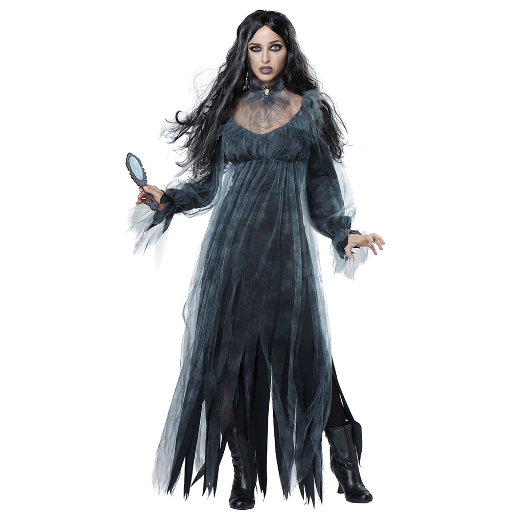 Halloween Kostüme Damen Selber Machen Zombie Us 27 01 Halloween Dead Corpse Bride Kostüm Frauen Lange Kleid Scary Zombie Ghost Braut Cosplay In Halloween Dead Corpse Bride Kostüm Frauen Lange