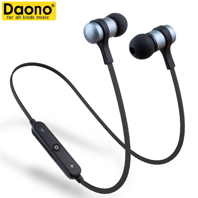 Daono IPX4-rated sweatproof headphones bluetooth 4.1 wireless sports earphones aptx stereo headset with MIC For Phone Auriculare