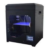 Impressora 3d принтер челнока Автоматический большой принт Размеры Популярные эффективное 3 D моделирования металла машин 2 экструдера Пластик ча
