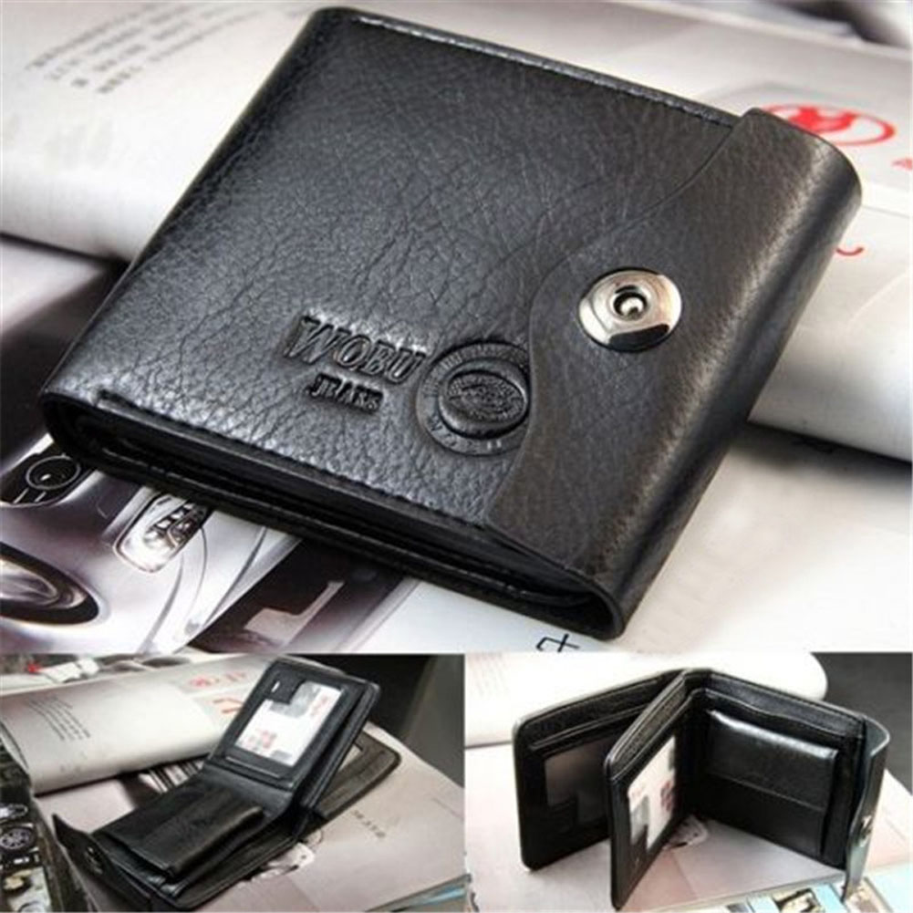 Mens Gentleman Coffee Brown Cowhide Real  Leather Bifold Zipper Pocket Wallet ID Credit Card for Clutch Pouch Coin Purse 2016 new arrival fashion luxury retro zipper mens leather wallet credit id card purse short design clutch femininas brand card