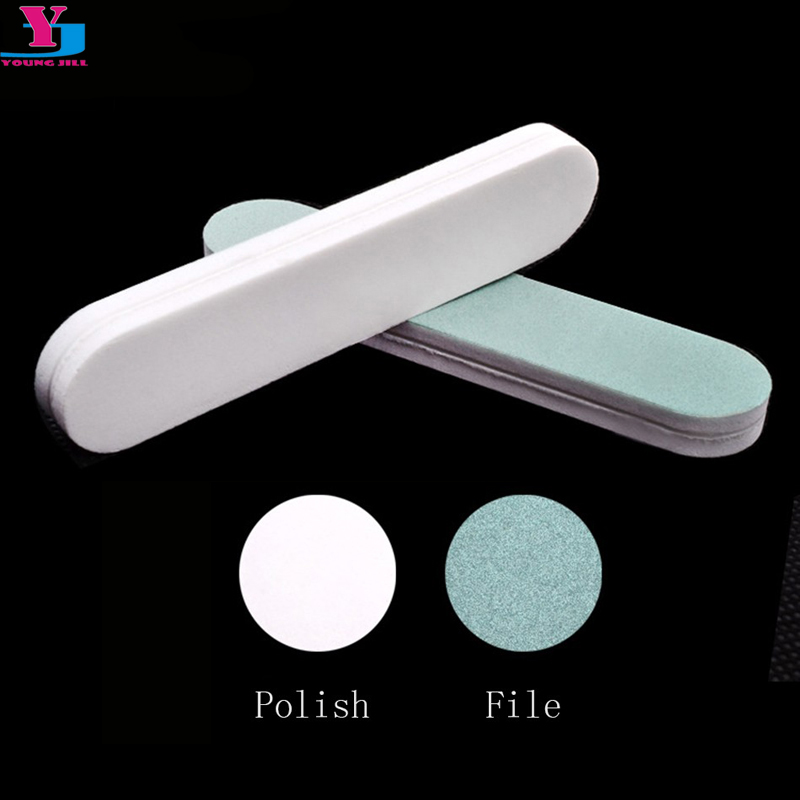 10pcs Nail Buffer File Block Mini Sponge Buffing Sanding Polish Grit Polisher Makeup Pedicure Manicure Foam Tips Tools For Gift