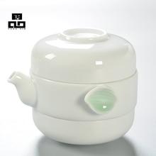 Drink Kaffee Tee-Sets, Keramik Teekanne Tee Tasse, Keramik teekanne set, keramik topf, porzellan tee tassen, reise Tee-Set, Heiße Verkäufe