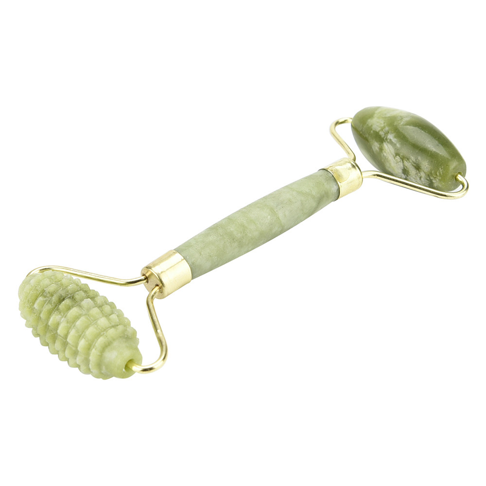 8080f6aefc6e9 Natural Facial Beauty Massage Tool Double Head #6 Roller Jade Face Thin  Slimming