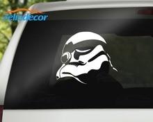 Felizdecor Stormtrooper Helmet Silhouette Art Vinyl Sticker Decal Rear  Windshield
