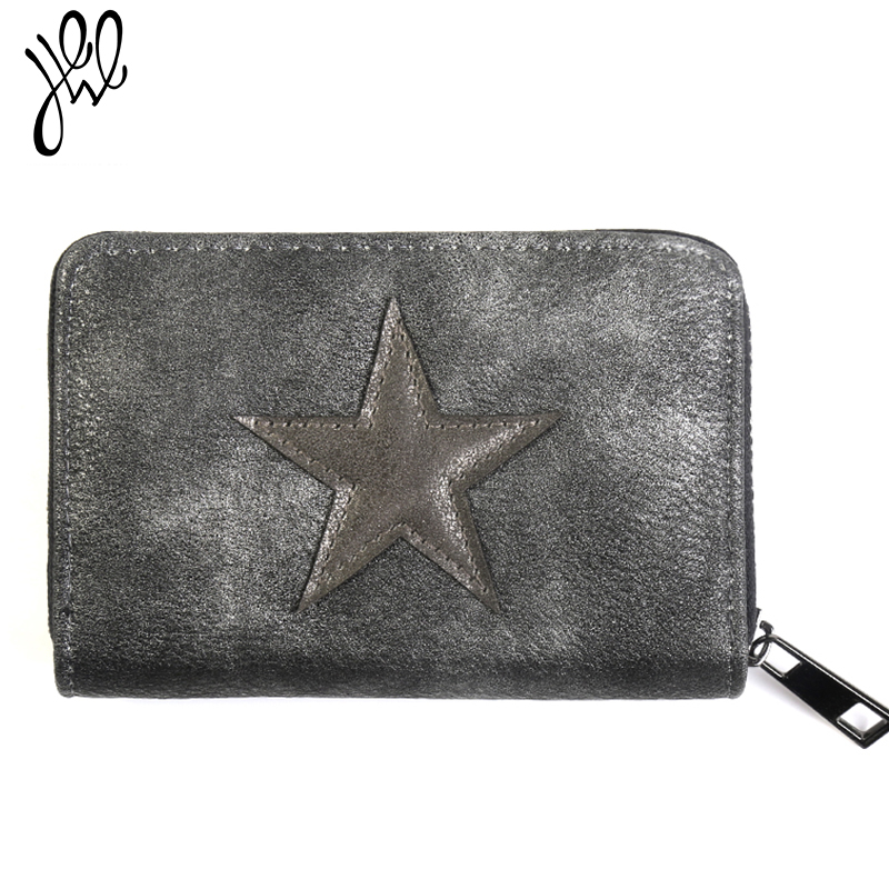 Lovely Small Women Wallets Leather Purse Brand Short Wallet Best Gift Star Girls Wallet Card Holder Mini Lady Coin Purse 500609 new fashion small lady wallets coin purse lady with card holder vintage women wallet short mini purse best gift for friend500835