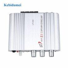 Lvpin LP 838 amplificateurs de canal de voiture Hi Fi 2.1 stéréo Subwoofer Audio haut parleur de basse Booster connecter avec lecteur DVD téléphone pour voiture