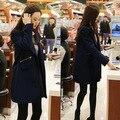 Casaco feminino пальто шерсти зимнее пальто женщин пальто abrigos mujer зима 2016 плюс размер casacos sobretudo кабан манто femme
