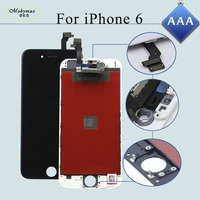 Mobymax 20PCS All AAA Test Display Pantalla Ecran Tela For IPhone 6 4 7 LCD Complete
