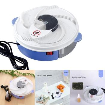 Insect Traps Fly Trap Electric USB Automatic Flycatcher Fly Trap Pest Reject Control Catcher Mosquito Flying Fly Killer electric flycatcher automatic fly trap device with trapping food fly catcher trapper pest insect flytrap usb type fly trap bait