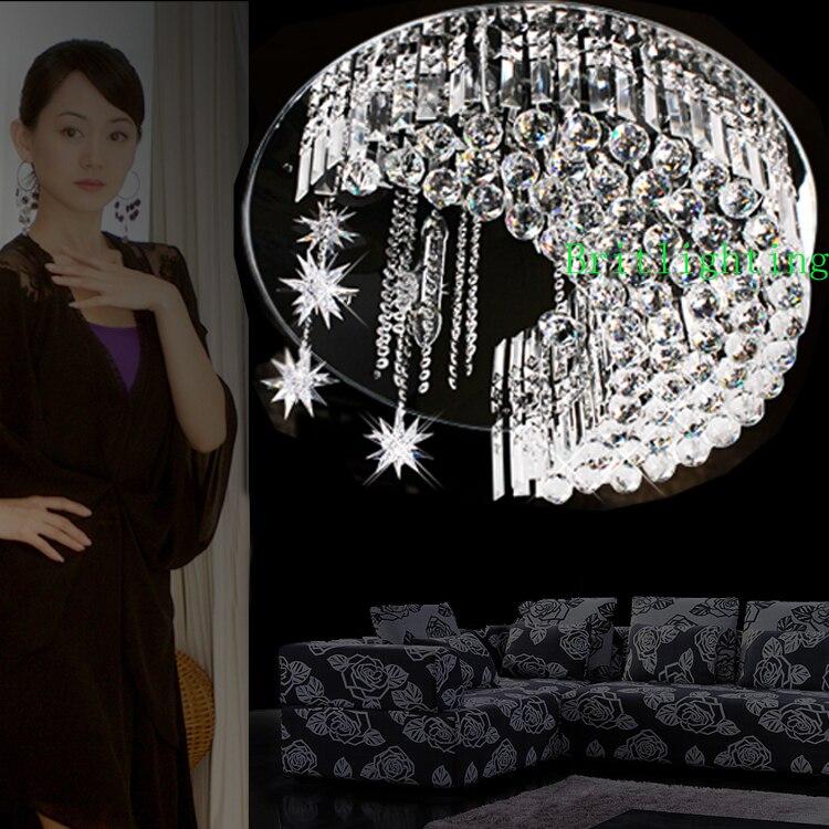 Творческий, современный хрустальные потолочный светильник современного кристалл освещение потолка современного потолочный светильник за