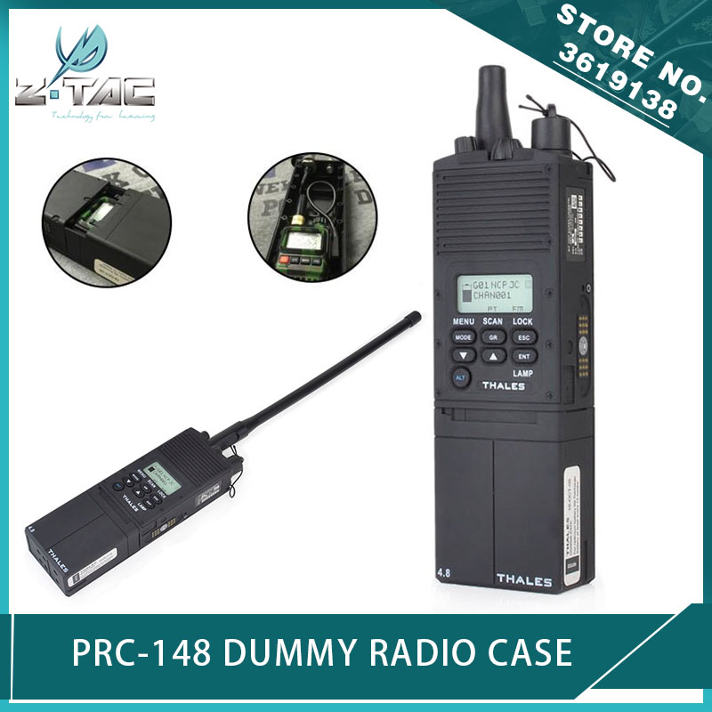 US 35 OFF Z Tactical Ztac Airsoft PRC 148 Dummy Radio Case AN PRC 148 Talkie Walkie Case 1 1 For Antenna Package No Function Dummy In Tactical