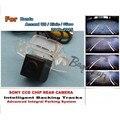 Автомобиль Траектории Интеллектуальные Треки Камеры/Для Honda Accord 2013 ~ 2015 Заднего Вида HD CCD Ночного Видения Автомобильная камера Заднего Камера вид