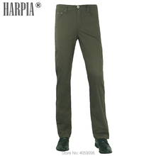 HARPIA Summer Men's New Classic Business Leisure Pants Man Straight Casual Pants Male Regular Stretch Plus Size Full-Length Pant harpia men s classic casual pants man autumn new cotton elasticity straight trousers male plus size full length business pants