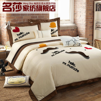Great 7 Styles Modern Bed Sheet Set, Simple Design Bedding Set,100% Cotton Bedding  Set,king Size Bedding Set In Bedding Sets From Home U0026 Garden On  Aliexpress.com ...