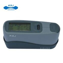 KSJ marki inteligentny połyskomierz wskaźnik Glossmeter USB pamięci oprogramowania raport danych 20 60 85 stopni Anti-scratch pomiaru okno