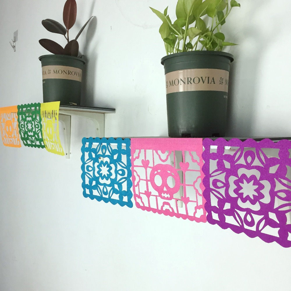 Mexican Day of the Dead Party Decoration Banner For Kids supplies home loteria mexicana dia de los muertos in Party DIY Decorations from Home Garden