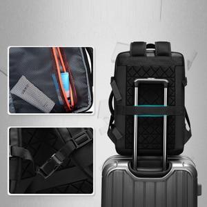 Image 5 - Travel Backpack Large Capacity Male Mochila Expandable Rucksack with USB Charging Laptop Backpack Waterproof Multifunctional bag