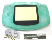 Glow in  Dark For Gameboy Advance  Plastic Shell Case Housing Screen For GBA Luminous case Cover