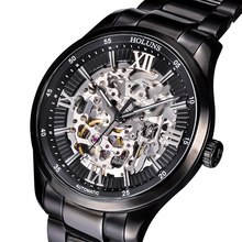 Holuns mens watches top brand luxury relogio masculino sports army skeleton stainless waterproof steampunk Wristwatches