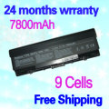 JIGU High capcity black laptop battery FOR DELL for Inspiron 1520 for Vostro 1700 451-10476 451-10477 FK890 FP282 GK479 GR986