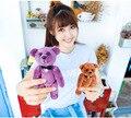 Urso Cavalheiro 130dB Ataque Pessoal Self Defense Proteção Armas Presentes Dos Amantes do Natal Presente de Aniversário
