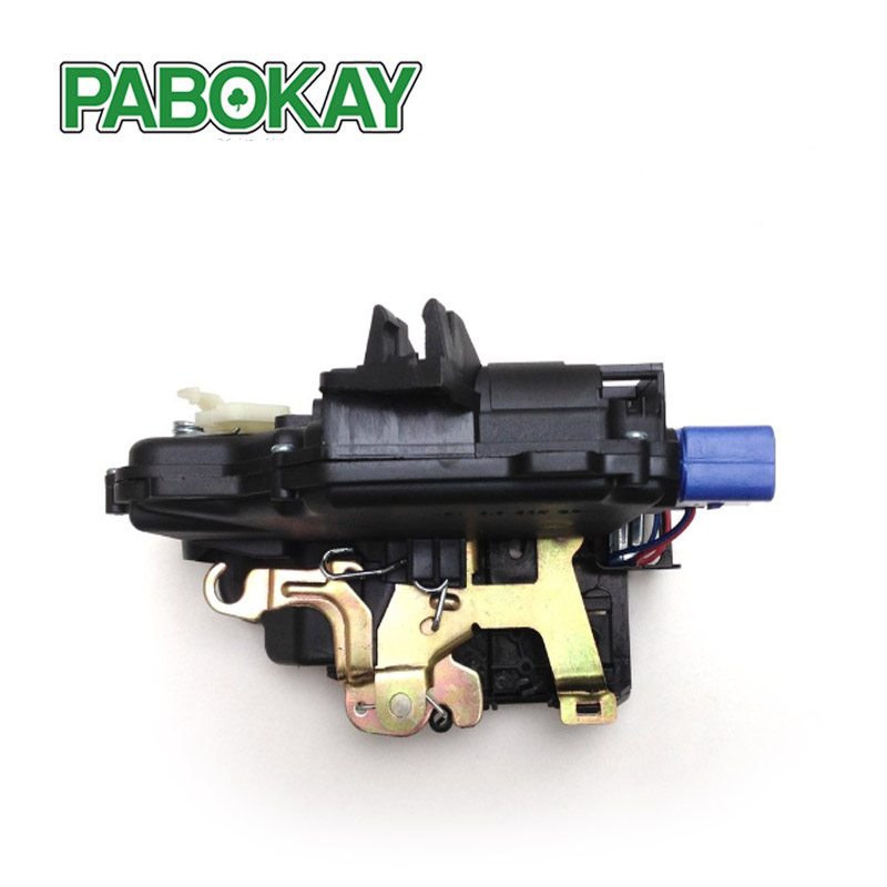 Image 2 - FRONT RIGHT Door Lock Mechanism 3B1837016BC 3B1837016CC 3B1837016BN 3B1837016AN 3B1837016S FOR VW T5 POLO SKODA FABIA ROOMSTER-in Locks & Hardware from Automobiles & Motorcycles