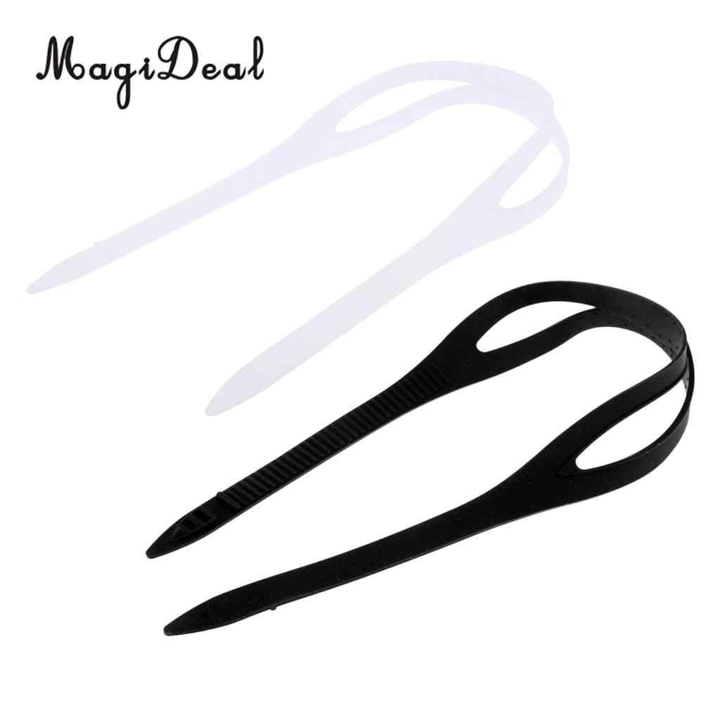 MagiDeal 2 шт. универсальные плавательные очки силиконовый ремешок Замена аксессуары