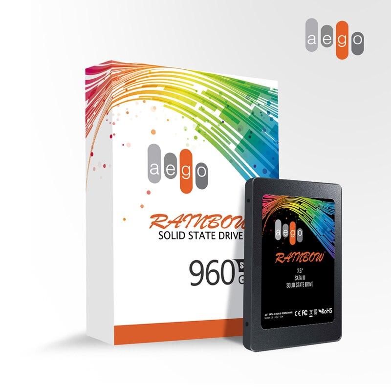 AEGO SSD 960 ГБ Внутренний твердотельный накопитель 1 ТБ SSD диск 2,5 дюймов SATA3 жесткий диск для ноутбука Настольный ПК ноутбук|Внутренние твердотельные накопители|   | АлиЭкспресс