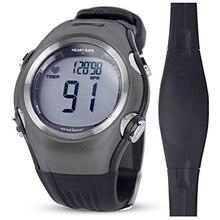 Пульсометр для мужчин спортивные polar часы водостойкий цифровой беспроводной Бег Велоспорт нагрудный ремень для женщин спортивные часы оранжевый