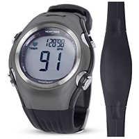 Monitor de ritmo cardíaco para hombre deportes polar relojes impermeables Digital inalámbrico correr ciclismo pecho Correa mujer deportes reloj naranja
