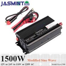 1500W modified wave inverter solar car power inverter 12v 220v in inverters converters qucik charge for home  car use