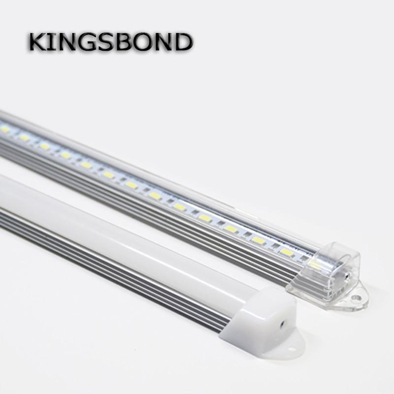 5pcs*50cm DC12V 50CM  50CM 5630 LED Hard Rigid LED Strip Bar Light  white warm white for indoor lighting