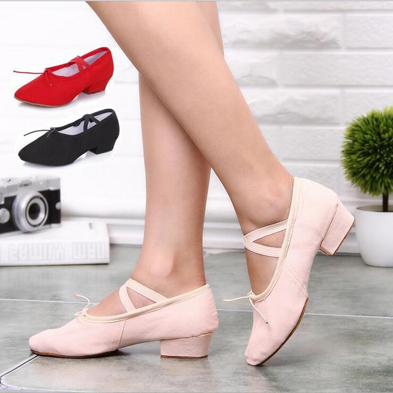 Aliexpress.com : Buy Women's Canvas Practice Ballet ... |Practice Ballet Shoes