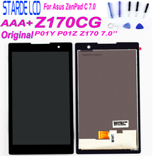 Starde 7 For Asus ZenPad C 7.0 Z170 Z170CG P01Y P01Z LCD Display Touch Screen Digitizer Assembly Z170CG Matrix Tablet Assembly asus z170mg lcd display touch screen assembly for asus zenpad c 7 0 z170mg z170 mg lcd screen for asus z170mg original screen