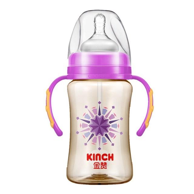 Imposto de Água Automático Daibing Garrafa Bpa Livre Bebê Único Carregado de Fluxo Médio Sólida Em Forma de Cabaça-Garrafas de Garrafas de Alimentação Do Bebê copos