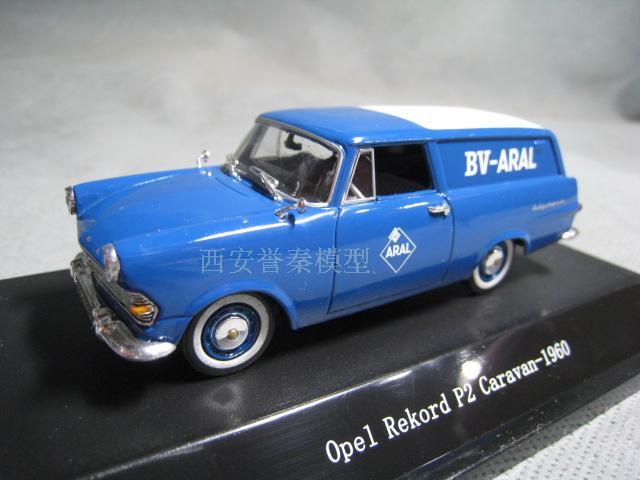 Star Line 1 43 Open Rekord P2 Caravan 1960 Alloy Model Car Diecast