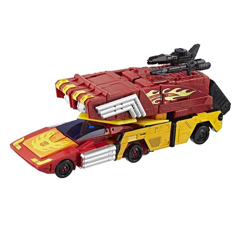 Leader Class Power of the Prime Rodimus Prime With The Matrix Action Figures Truck Car Classic