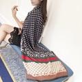 La Nueva Cadena de Lujo de la Marca Bufandas Para Mujer Femenina Otoño Y El Invierno de la Cachemira Caliente de Doble uso Grande Mantón Largo grueso Collar