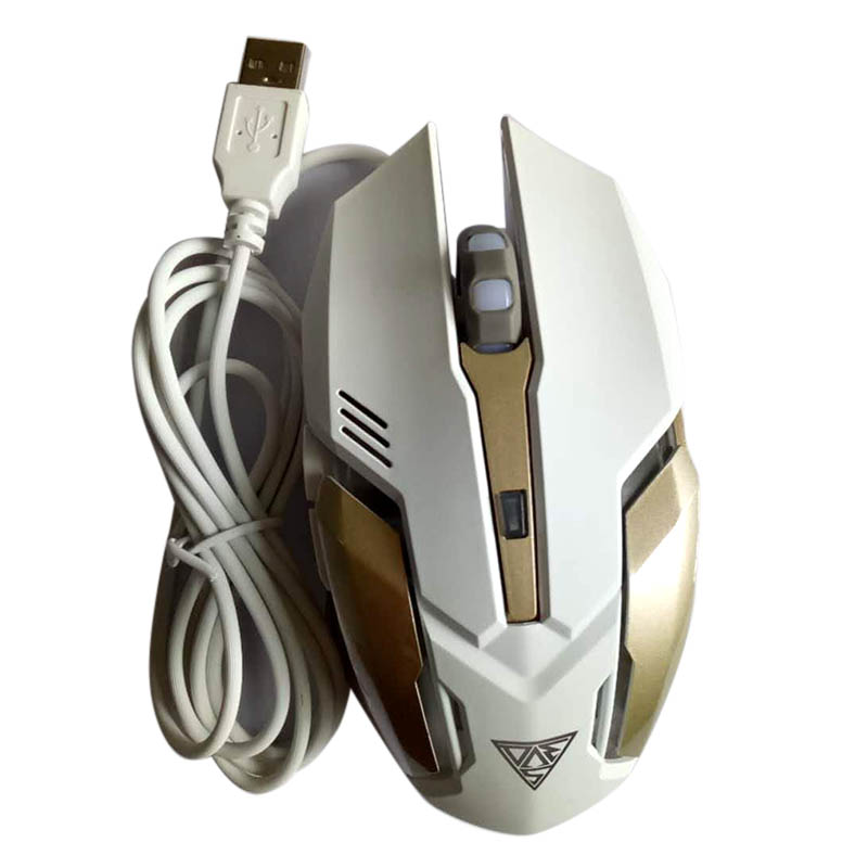 Mechanical Gaming Mouse Mice 6 Button 4 Modes DPI USB Interface Lighting For Computer ING-SHIPPING