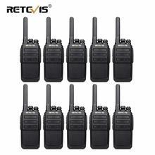 10 ps RETEVIS RT28 przenośne Walkie Talkie VOX wolne ręce CTCSS/DCS USB do ładowania częstotliwości UHF przenośne 2 Way Radio Comunicador