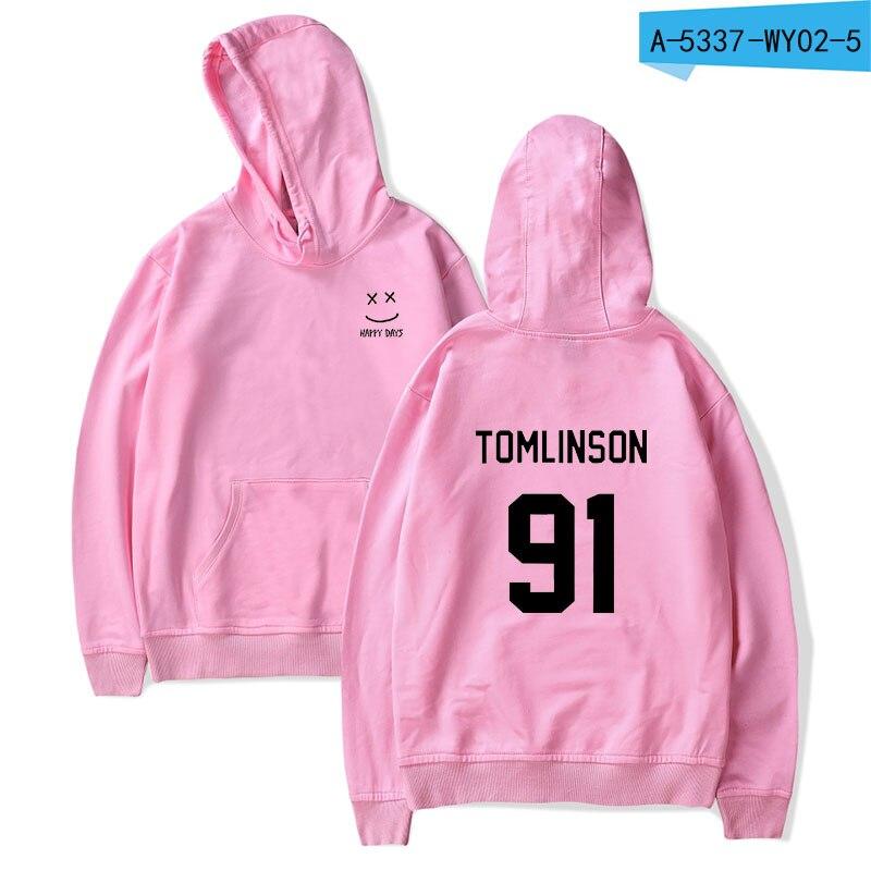 Louis Tomlinson One Direction 1D Mens Casual Hoodie Sweatshirt Jacket Pullover
