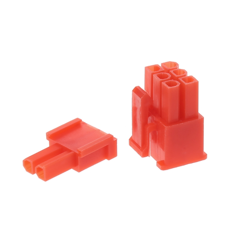 4.2mm red 6+2PIN 8P 8PIN male for PC computer ATX graphics card GPU PCI-E PCIe Power connector plastic shell Housing 400pcs crimp female terminals pin plug 50pcs 5557 8 6 2 p atx eps pci e connectors with plastic box