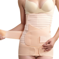 3 Adet/takım Hamile Kadın Doğum Kurtarma Kemer Gebelik Kuşak Karın Slim Zayıflama Bel Göbek Bandı Shapewear