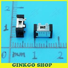 50pcs/lot DC057 2.5x0.6mm Tablet common Power DC JACK Connector Socket for Ramos Flytouch Tablet PC free shipping
