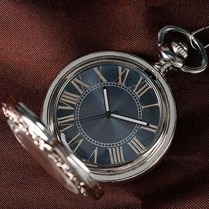 Image 3 - Montre de luxe pour hommes, Relogio, numérique Steampunk, Vintage, élégante, avec cadran, couleur gris, mécanique, cadeau de noël